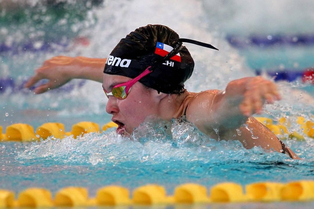 Campeona de natación 2017