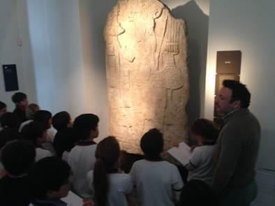 Visita Museo de Arte Precolombino 4º Básico